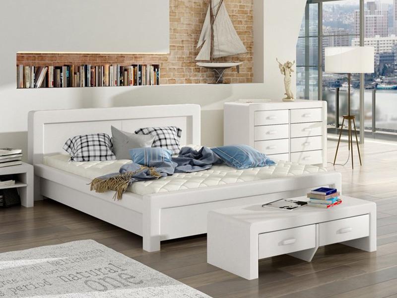 łóżko Tapicerowane 80218 łóżka Mk Foam Koło