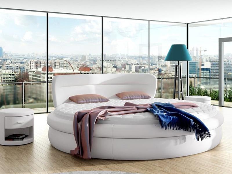 łóżko Tapicerowane 81211 łóżka Mk Foam Koło